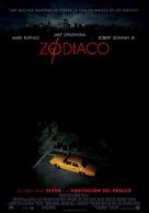 Zodiac - Mexican Movie Poster (xs thumbnail)