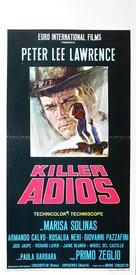 Killer, adios - Italian Movie Poster (xs thumbnail)