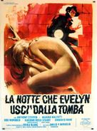 La notte che Evelyn uscì dalla tomba - Italian Movie Poster (xs thumbnail)