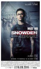 Snowden - Vietnamese Movie Poster (xs thumbnail)