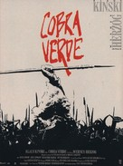 Cobra Verde - French Movie Poster (xs thumbnail)
