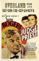Judge Priest - Movie Poster (xs thumbnail)