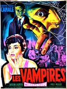 I vampiri - French Movie Poster (xs thumbnail)