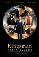 Kingsman: The Secret Service - Slovenian Movie Poster (xs thumbnail)