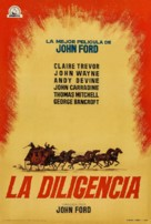 Stagecoach - Spanish Re-release movie poster (xs thumbnail)