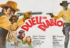 Duel at Diablo - German Movie Poster (xs thumbnail)