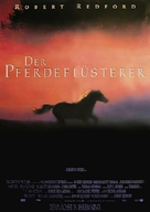 The Horse Whisperer - German Movie Poster (xs thumbnail)