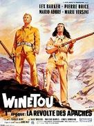 Winnetou - 1. Teil - French Movie Poster (xs thumbnail)