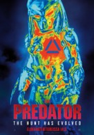 The Predator - Finnish Movie Poster (xs thumbnail)