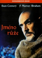 The Name of the Rose - Czech DVD movie cover (xs thumbnail)