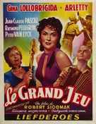Le grand jeu - Belgian Movie Poster (xs thumbnail)