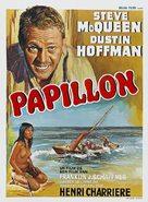 Papillon - Belgian Movie Poster (xs thumbnail)