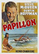 Papillon - Belgian Movie Poster (xs thumbnail)