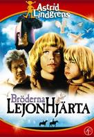 Bröderna Lejonhjärta - Swedish DVD cover (xs thumbnail)