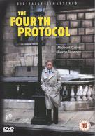 The Fourth Protocol - British DVD movie cover (xs thumbnail)