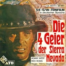 I quattro inesorabili - German Movie Cover (xs thumbnail)