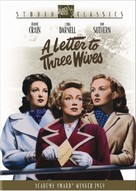 A Letter to Three Wives - DVD movie cover (xs thumbnail)