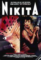 Nikita - Swedish Movie Poster (xs thumbnail)