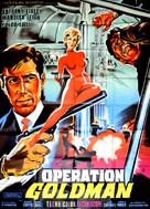 Operazione Goldman - French Movie Poster (xs thumbnail)