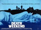 Death Weekend - British Movie Poster (xs thumbnail)