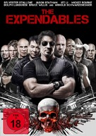The Expendables - German DVD movie cover (xs thumbnail)