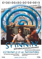 Spinnin' - Spanish Movie Poster (xs thumbnail)