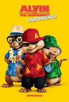 Alvin and the Chipmunks: Chipwrecked - Movie Poster (xs thumbnail)