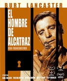 Birdman of Alcatraz - Spanish Movie Cover (xs thumbnail)