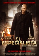 The Mechanic - Peruvian Movie Poster (xs thumbnail)