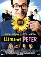 The Life And Death Of Peter Sellers - Spanish Movie Poster (xs thumbnail)