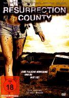 Resurrection County - German DVD cover (xs thumbnail)