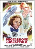 Le jouet - Italian Movie Poster (xs thumbnail)
