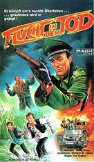 Hosszú vágta - German VHS cover (xs thumbnail)