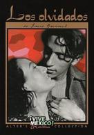 Los olvidados - Mexican DVD cover (xs thumbnail)