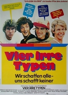 Breaking Away - German Movie Poster (xs thumbnail)