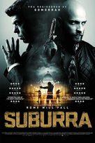 Suburra - Norwegian Movie Poster (xs thumbnail)