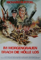 Raid on Rommel - German Movie Poster (xs thumbnail)