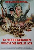Raid on Rommel - German Movie Poster (xs thumbnail)