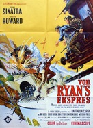 Von Ryan's Express - Danish Movie Poster (xs thumbnail)