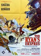 Von Ryan's Express - Danish Movie Poster (xs thumbnail)