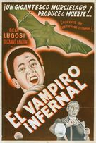 The Devil Bat - Spanish Movie Poster (xs thumbnail)