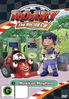 """Roary the Racing Car"" - New Zealand DVD movie cover (xs thumbnail)"