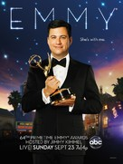 The 64th Primetime Emmy Awards - Movie Poster (xs thumbnail)