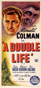 A Double Life - Australian Movie Poster (xs thumbnail)