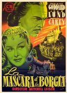 Bride of Vengeance - Spanish Movie Poster (xs thumbnail)