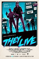 They Live - British Re-release movie poster (xs thumbnail)