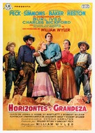 The Big Country - Spanish Movie Poster (xs thumbnail)