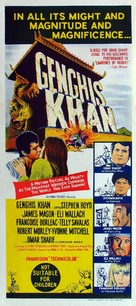 Genghis Khan - Australian Movie Poster (xs thumbnail)