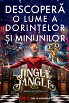 Jingle Jangle: A Christmas Journey - Romanian Movie Poster (xs thumbnail)