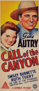 Call of the Canyon - Australian Movie Poster (xs thumbnail)